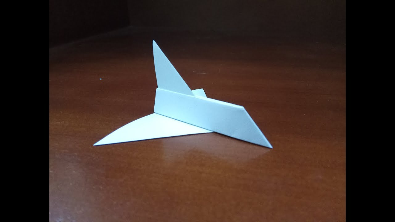 Origami Spaceship Easy How To Make A Paper Easy Spaceship Youtube