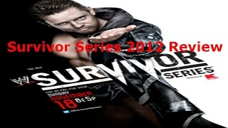 WWE Survivor Series 2012 Review