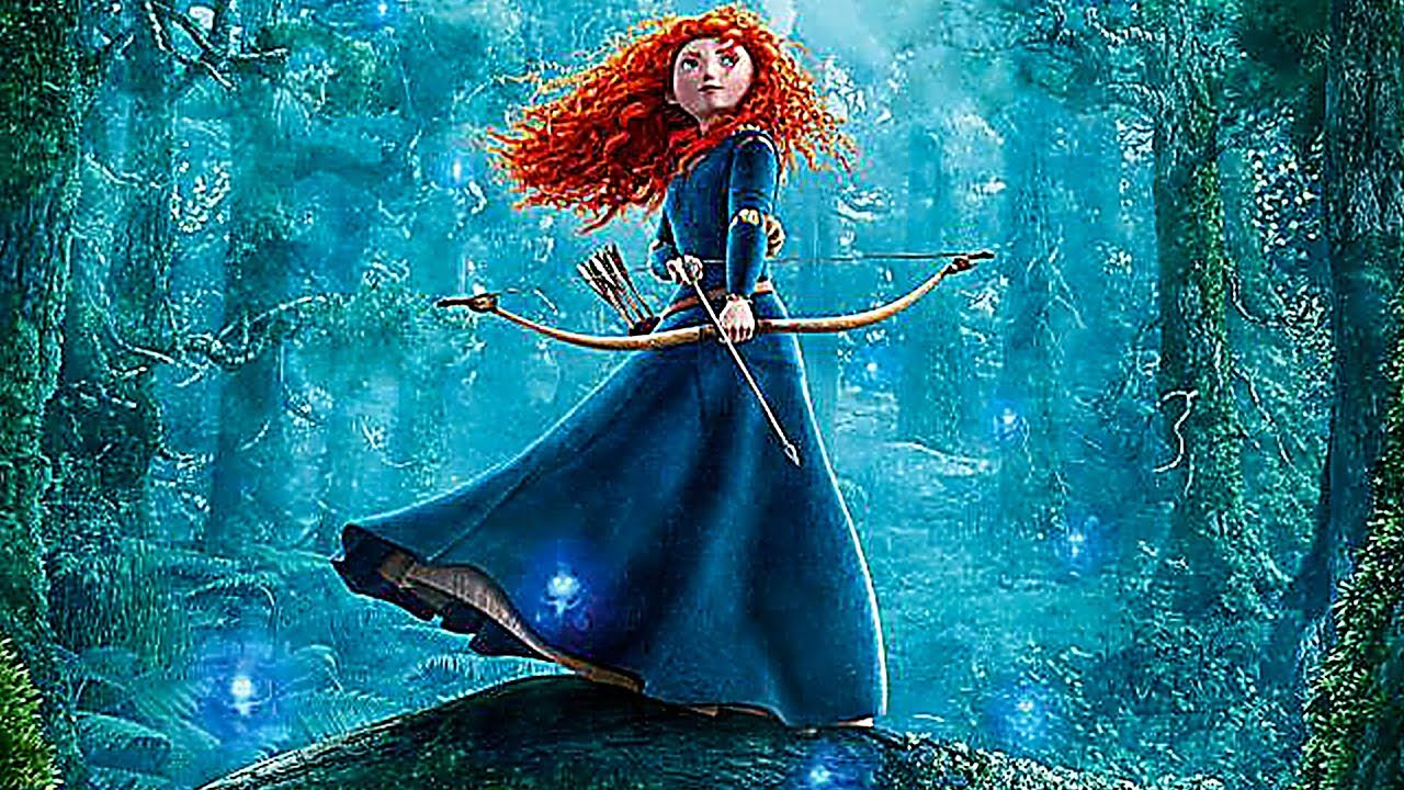 It's just a graphic of Dynamite Pictures of Merida From Brave