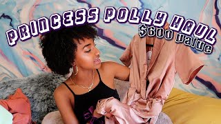 $600 Princess Polly TRY-ON Clothing Haul (cute af)