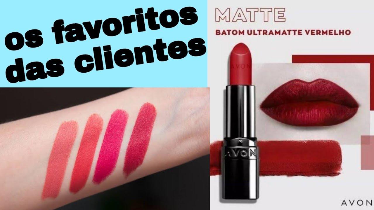 Resenha Batom Matte Real Avon - YouTube