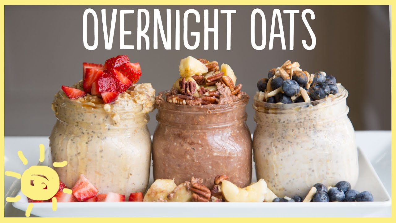 EAT | Overnight Oats 3 Ways - YouTube