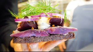 Denmark Food - BEST SMØRREBRØD + FRIED CANNABIS at 800 Year Old Castle!