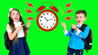 Late for School Song / Pretend Play Nursery Rhymes Kids Song