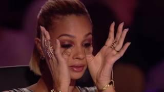 Девочка заставила в концу судей плакать и нажали золотую кнопку !!!! Зал в Шоке !!! Шоу Талант !!!!