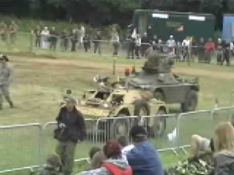 War & Peace 2008 Ferret M2/3 Armoured scout car