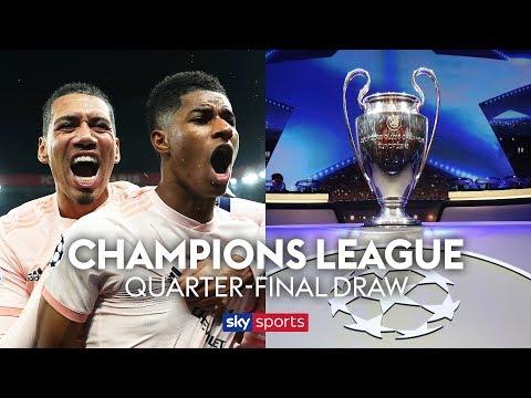 LIVE! Champions League Quarter Finals draw!
