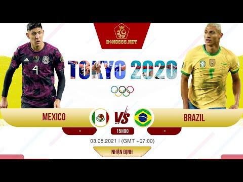 Soi kèo bóng đá U23 Mexico vs U23 Brazil - 15h ngày 3/8 | Nhận định bán kết Olympic Tokyo 2021.