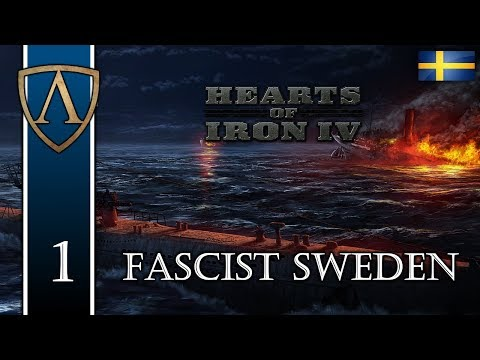 Let's Play Hearts of Iron IV | Fascist Sweden 1