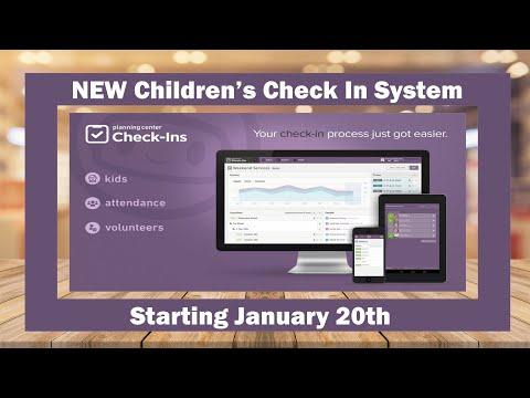 Calvary Ellensburg Child Check In System