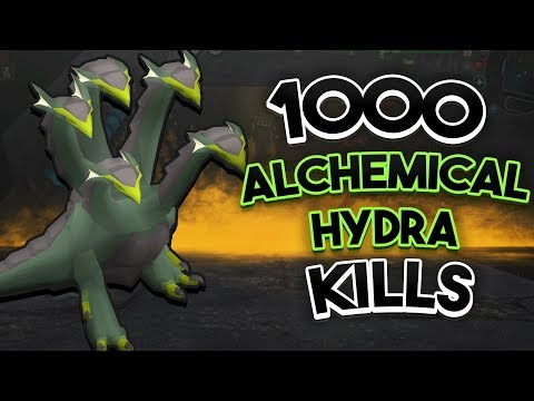 Loot From 1,000 Alchemical Hydra
