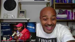 (South African Rapper) Stogie T Freestyle On Sway In The Morning Reaction