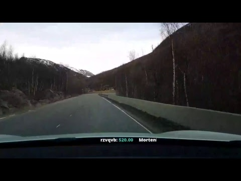 Model S 75 from Bergen to Oslo part 1