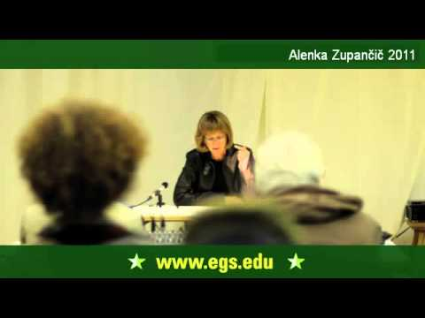 Alenka Zupančič. The Fantasy of Speculative Realism. 2011