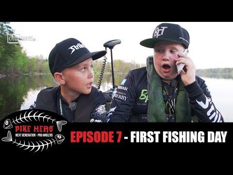 PIKE HERO 2017 - Episode 7 - First Fishing Day (English, German & French subtitles)