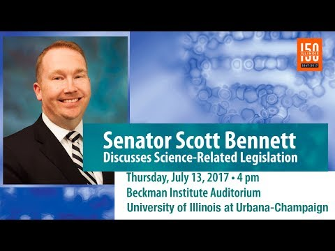 Illinois Senator Scott Bennett Discusses Science-Related Legislation