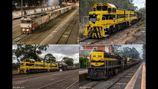 Gambar cover Trackside: Bendigo Area Rail Action including SSR on the VGR- 29th November to 1st December 2019