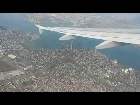 Takeoff from NYC's LaGuardia Airport on a JetBlue