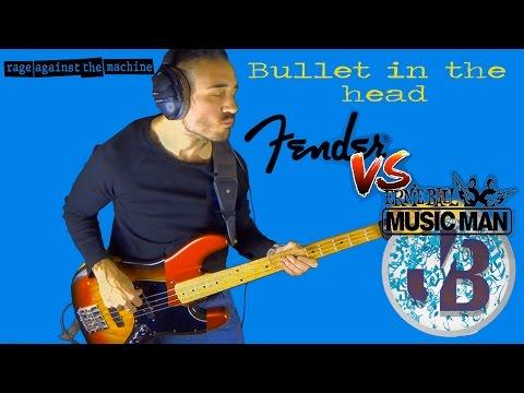 Bullet in the head - Fender jazz vs Music Man  bass cover