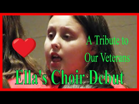 Old High Middle School Choir | Military Tribute