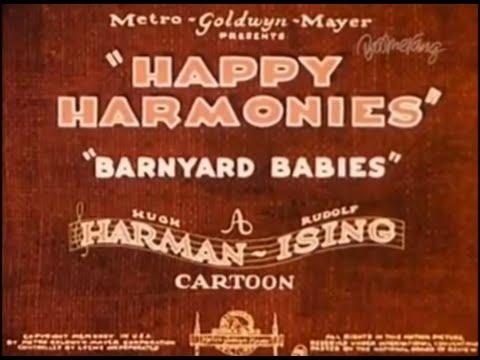 happy harmonies barnyard babies 1935 youtube. Black Bedroom Furniture Sets. Home Design Ideas