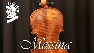 Stentor violin comparison of the Messina, Conservatoire, Student 2 and Student 1
