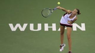 2016 Wuhan Open Second Round | Karolina Pliskova vs Lucie Safarova | WTA Highlights