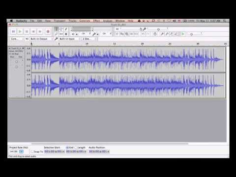 Audacity Tutorial Part 1 of 2 - Download, Installation And Setup
