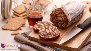 Chocolate Salami ( Salame Al Cioccolato ) Italian Recipe