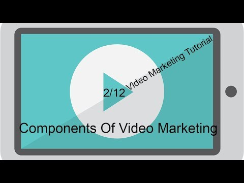 Components Of Video Marketing, Video Marketing Tutorial 2