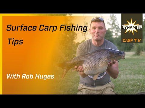 Rob Hughes Surface Carp Fishing Tips