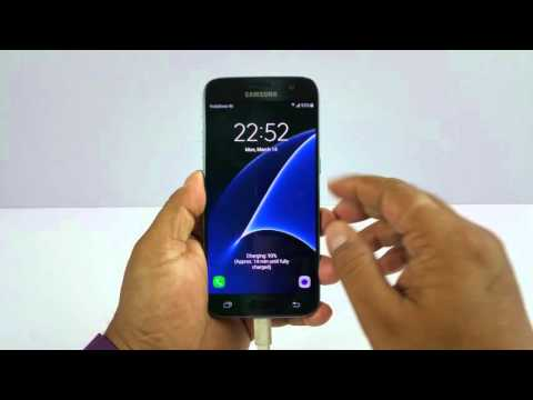 Samsung Galaxy S7 Notification LED, Adaptive display, Proximity sensor test