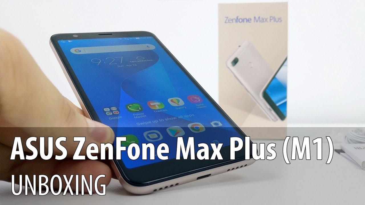 ASUS ZenFone Max Plus (M1) Unboxing în Limba Română