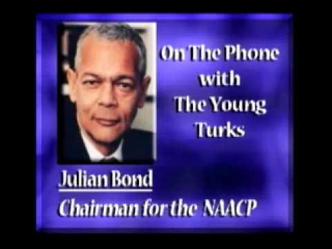 NAACP Chairman Julian Bond On MLK Day