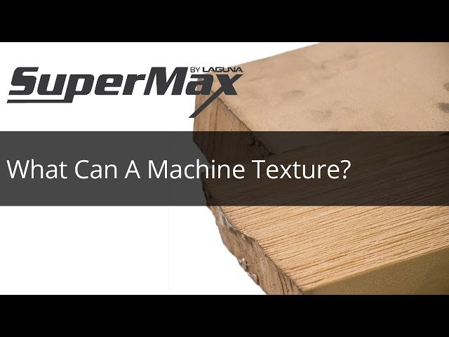 What Materials Can A Machine Texture? Check Out the Laguna Tools SuperBrush