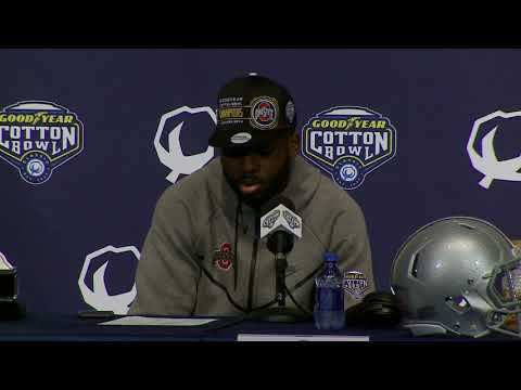 Ohio State post Cotton Bowl presser