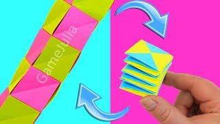 Игрушка Антистресс трансформер из бумаги