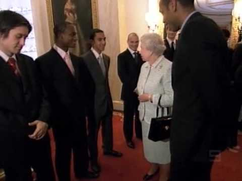 Arsenal's meeting with Queen