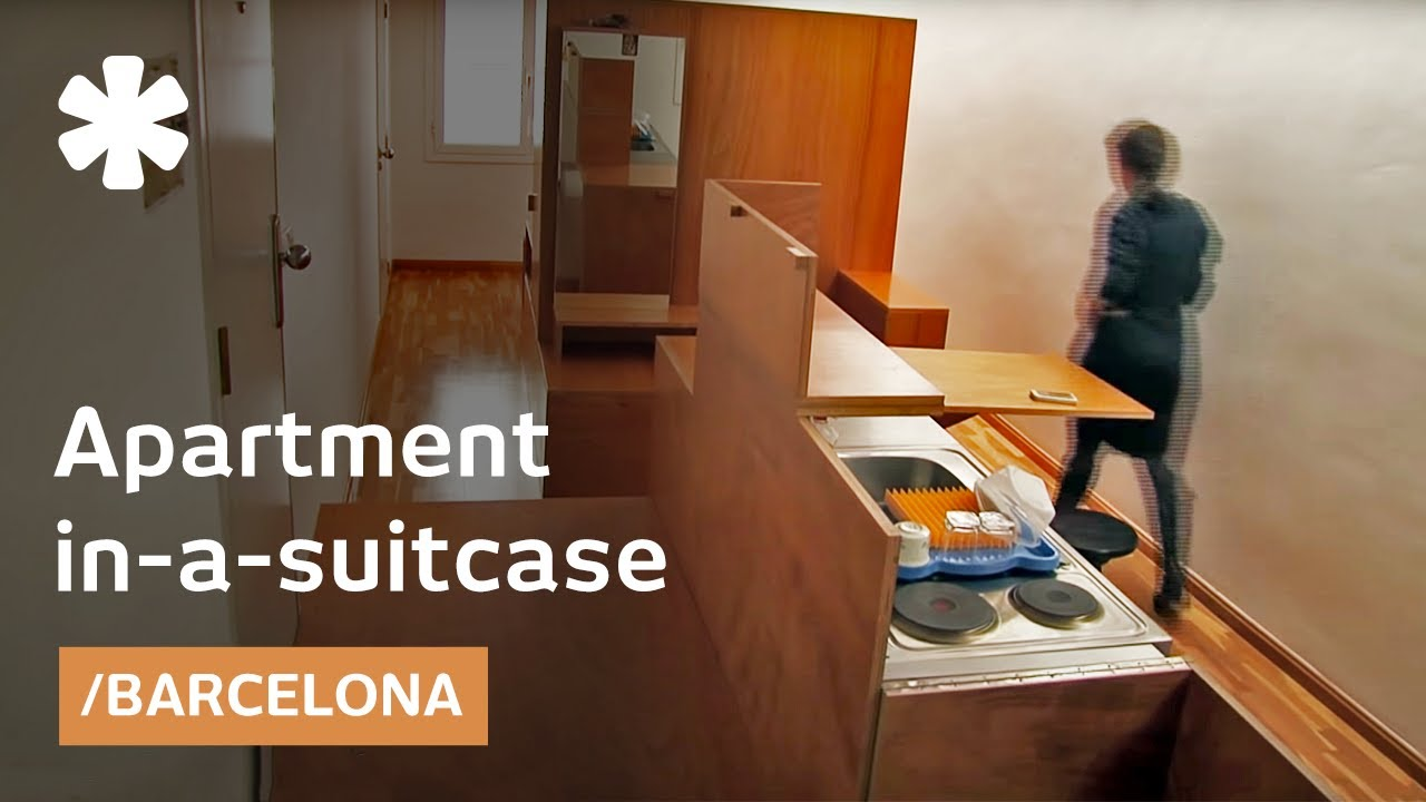 House in a suitcase: tiny home + 2 trunks of furniture ...