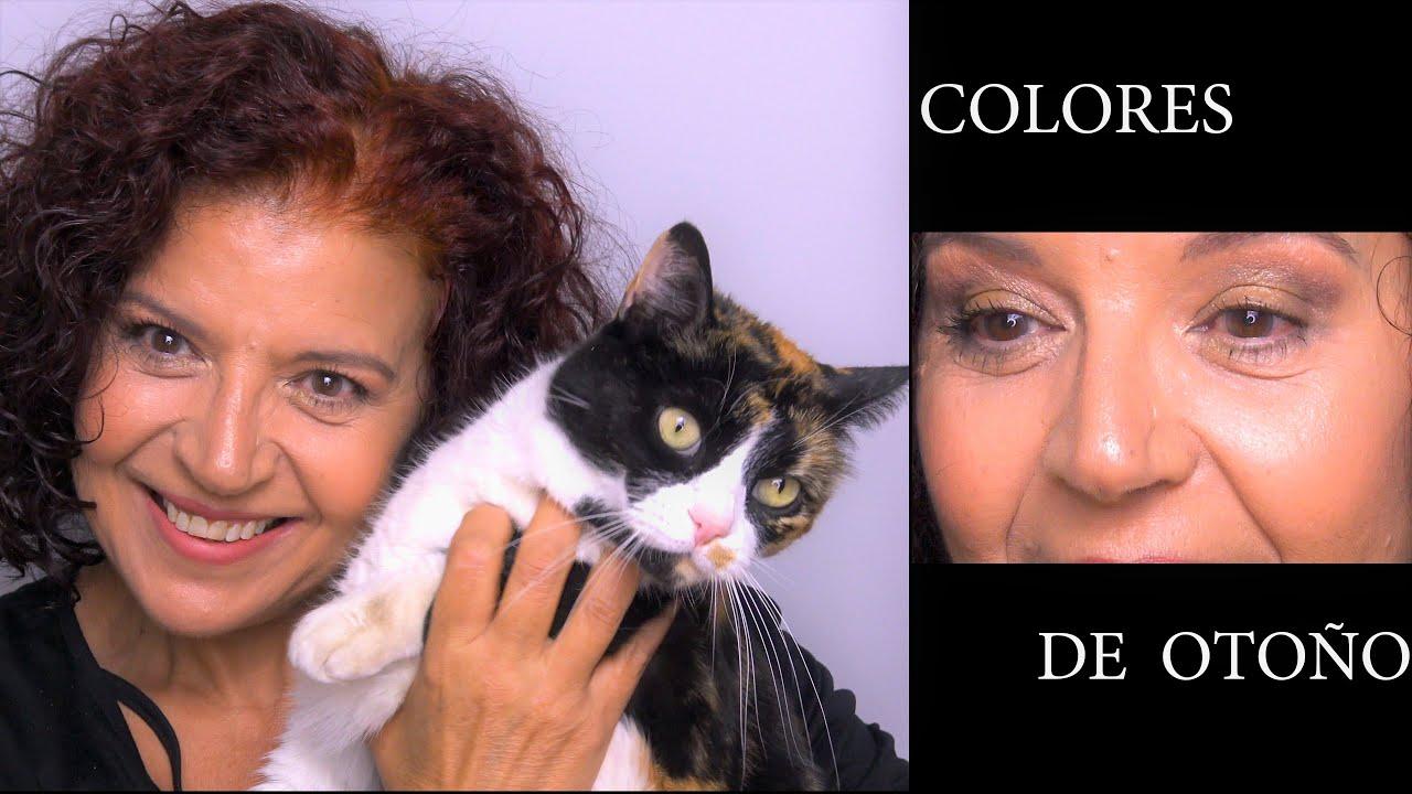 """Maquillaje """"Colores de Otoño"""""""