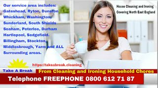 Gateshead Cleaners Domestic House Cleaning Ironing Service