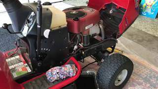 Home Depot lawn tractor has been sitting, can we get it running again?