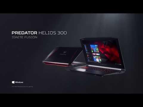 Acer Predator Helios 300 Gaming Laptop – Ignite Fusion
