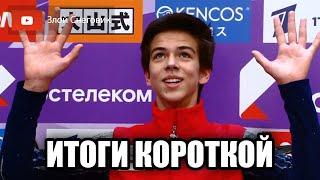 ИТОГИ КОРОТКОЙ ПРОГРАММЫ Мужчины Гран При России Rostelecom Cup 2020