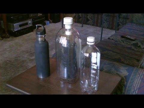 Solar bottle in bottle water heater diy plastic soda for Plastic water boiler