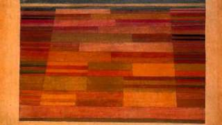 Ernest Bloch, 4/4 Fugue, Concerto Grosso No. 1, Paul Klee