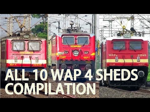 ALL 16 WAP 4 SHEDS COMPILATION   15000 SUBSCRIBERS SPECIAL