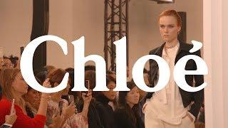 Kiki Willems Interview - Chloé SS20 Show