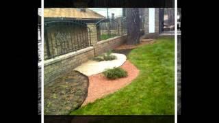 видео Озеленение и благоустройство территории дачного участка