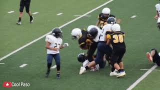 7th Grade Football: Parkland vs Eastwood Middle Fall 2019